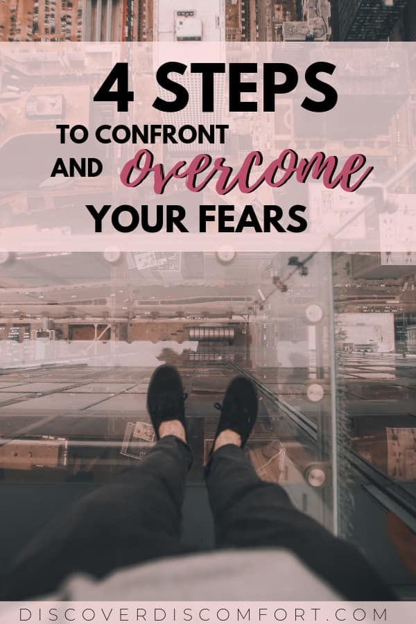 """Do one thing every day that scares you."" - Fear can paralyze us and keep us from living out our full potential. Overcoming fear can be the most powerful thing we can do for ourselves and can do wonders for our mental and emotional health. Here are 4 tangible steps you can take to conquer your everyday fears."