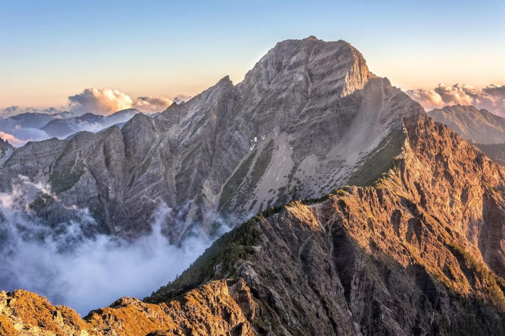 Living in Taiwan - a complete guide. This is Mt Jade, Yushan national park