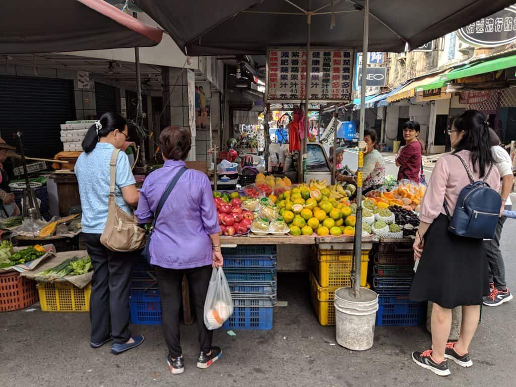 Wet Markets Taipei Taiwan