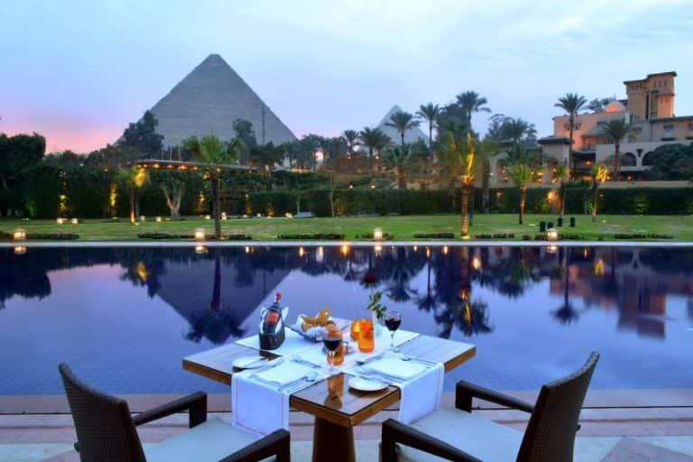 Cairo Neighbourhoods - View from Marriott Mena House