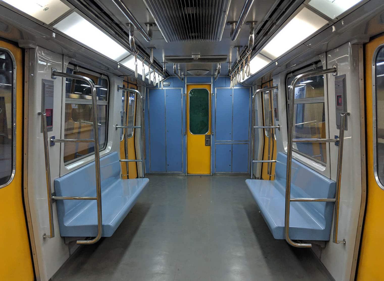 Discover Discomfort - Crazy Transport of Cairo - Metro