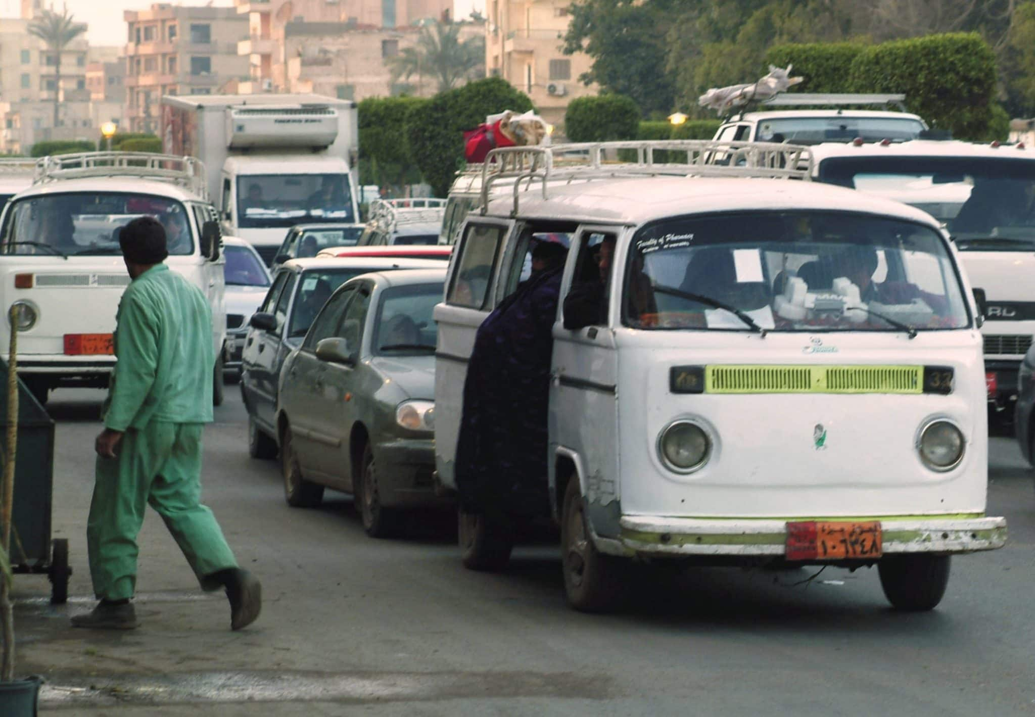 Discover Discomfort - Crazy Transport of Cairo - Microbus