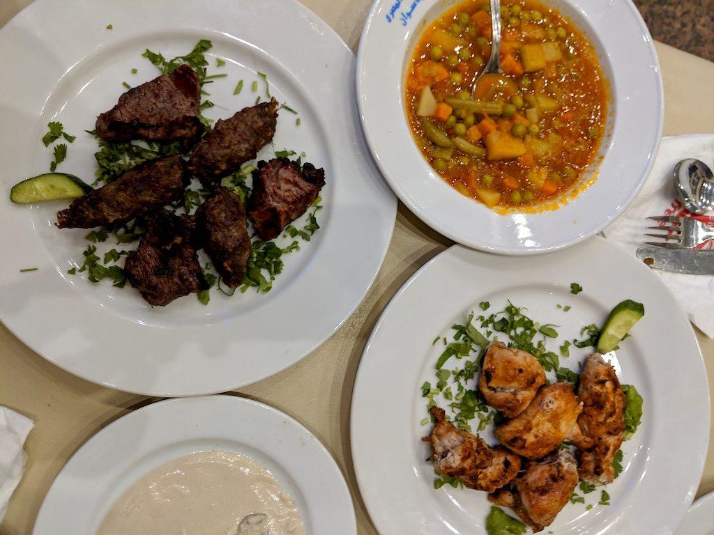Staying Healthy in Cairo, Egypt - Kofta