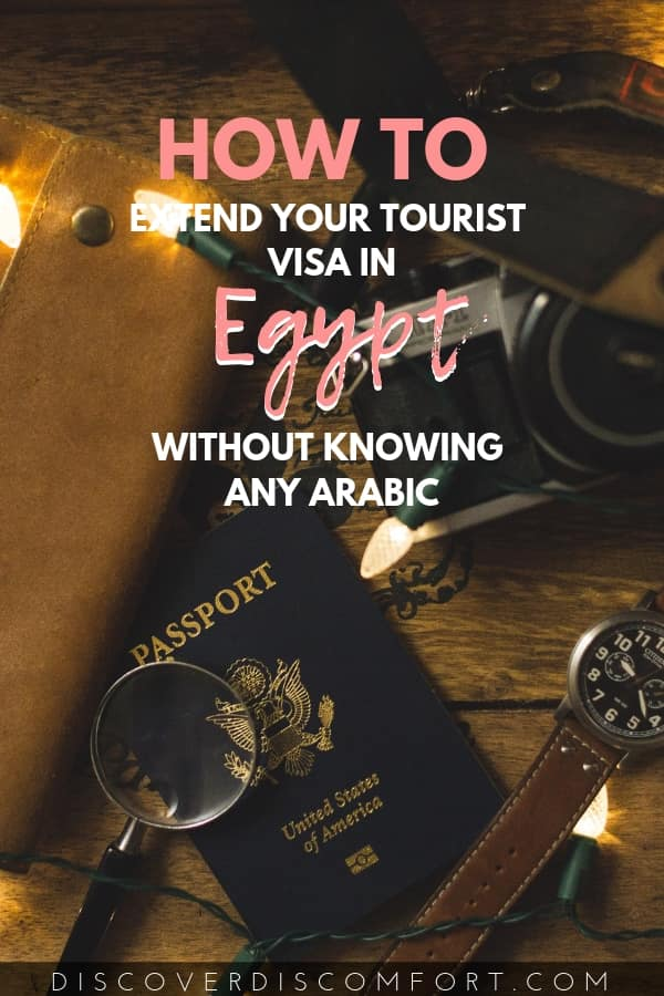 How to update your visa in Egypt at the Mogamma