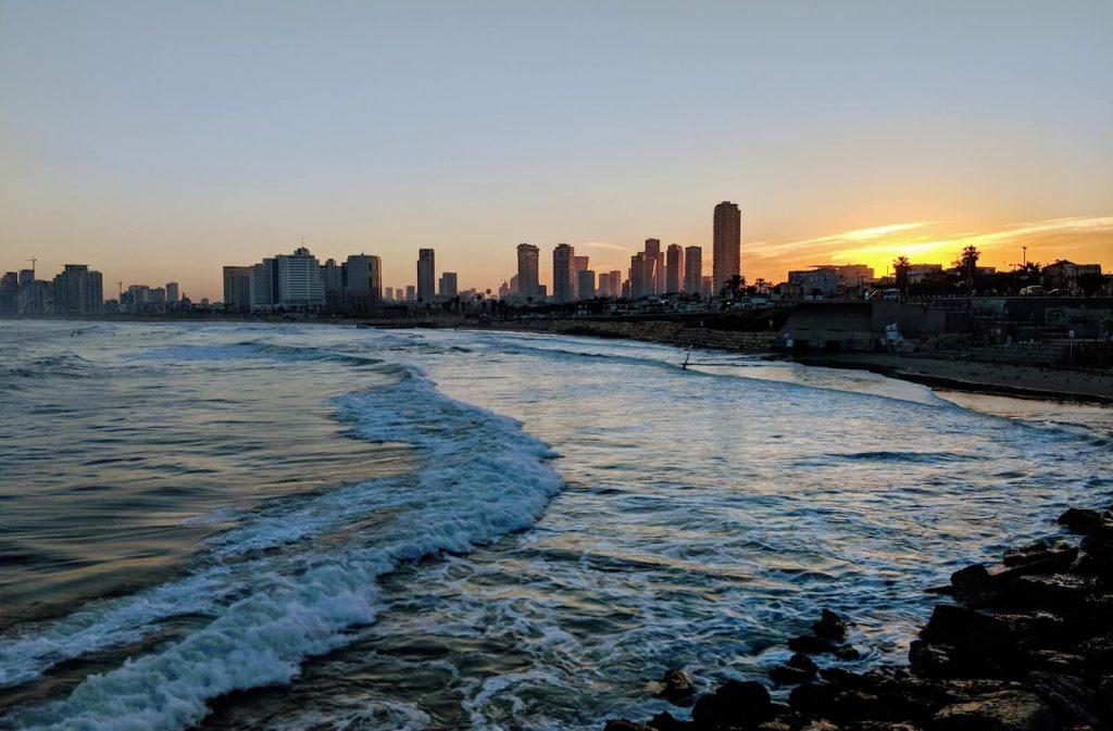 Tel Aviv is a very liberal city, definitely the most left-leaning city in Israel, but the centre of Israel-Palestine politics
