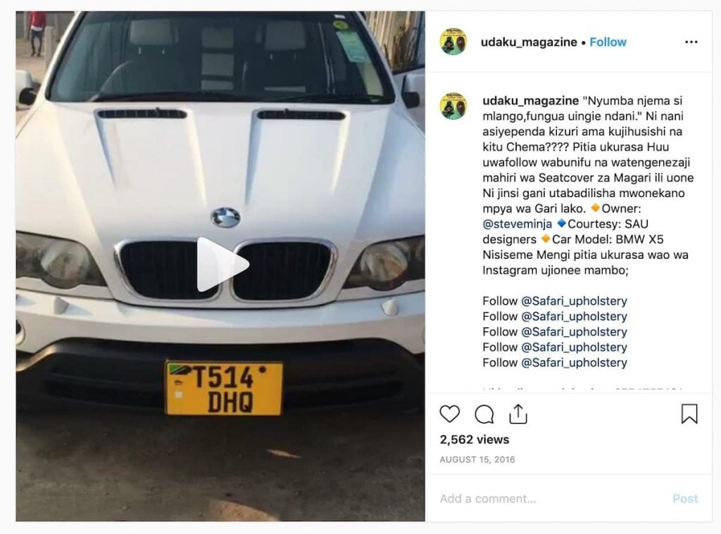"""Swahili proverbs """"don't judge a book by its cover"""". you have to look under the bonnet!"""