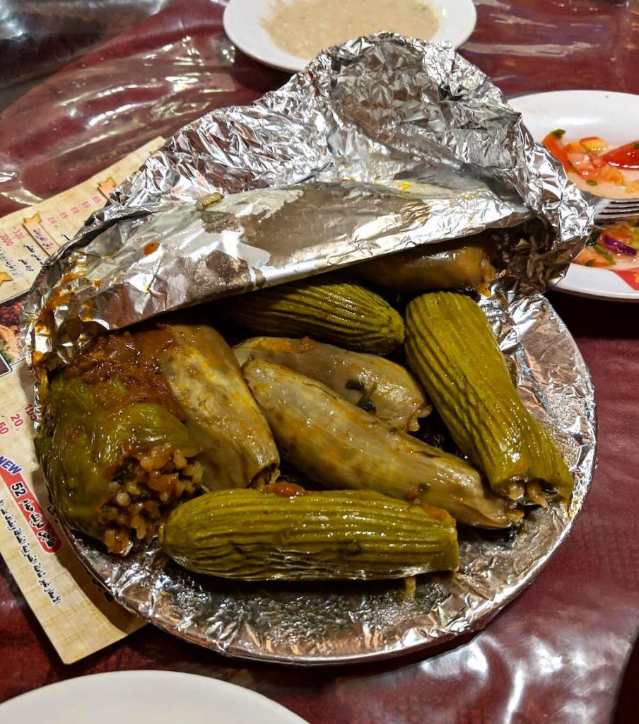 Mahshi is a classic Egyptian local food you have to try