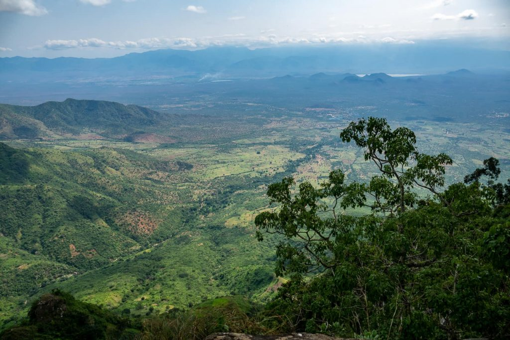 Hiking the Usambara Mountains in Tanzania - The constant views