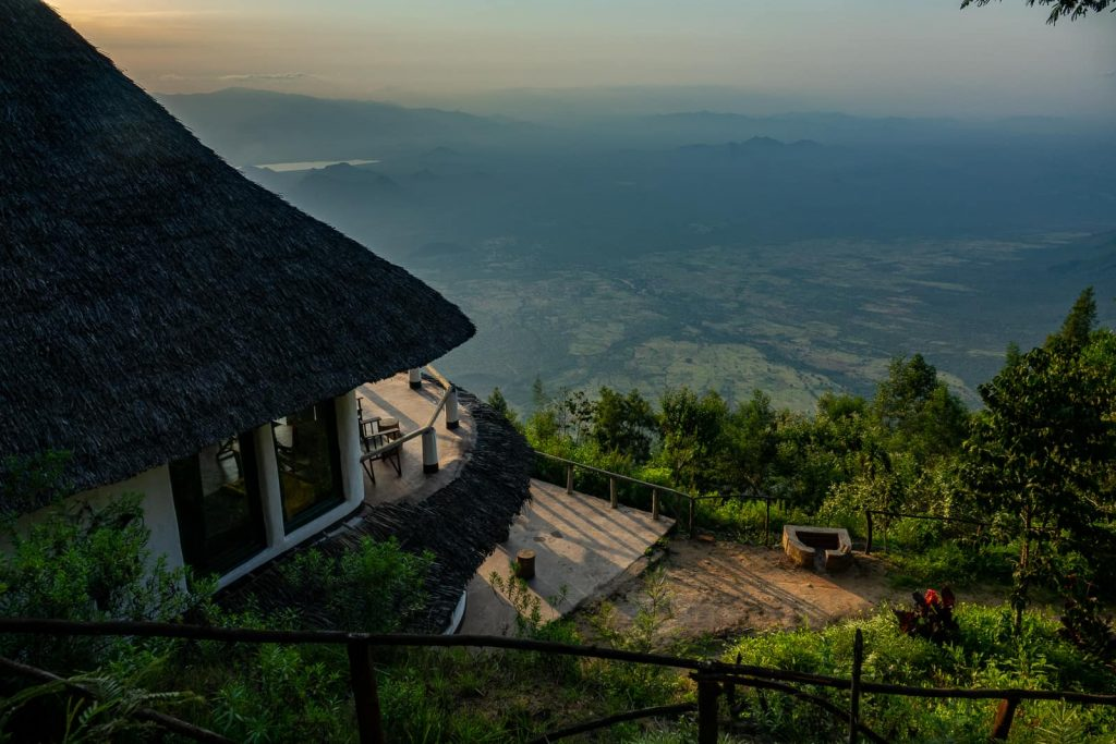 Hiking the Usambara Mountains in Tanzania - The view where we stayed on the last night