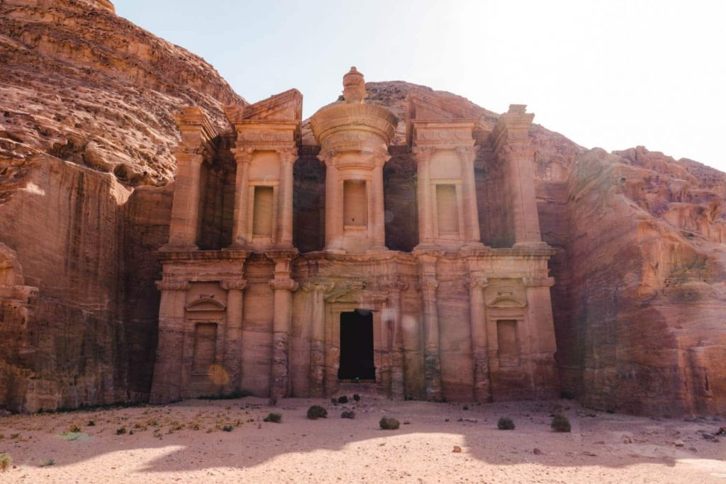 Petra Monastery, one of the more popular (and best) hiking trails in Petra