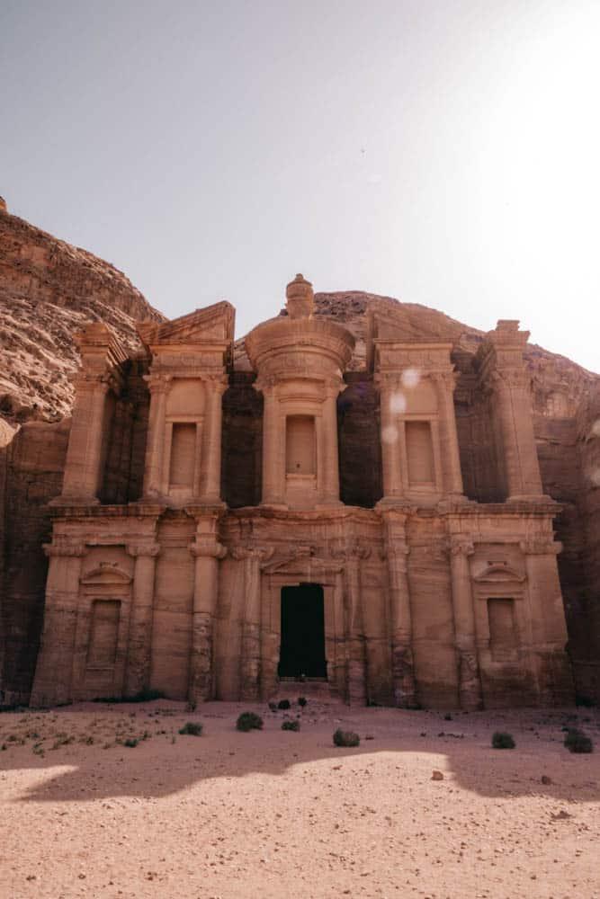 Monastery View - Monastery hike - hiking trails in Petra
