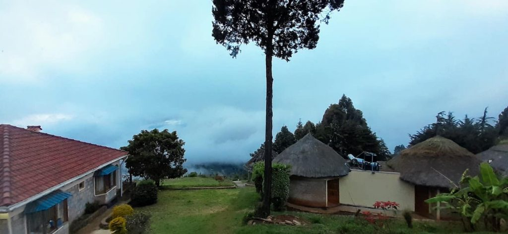 Running in Iten - day 12, runing a long run in theclouds