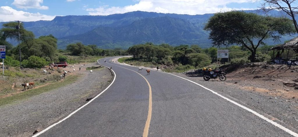 Running in Iten, Kenya - the roads in Kenya