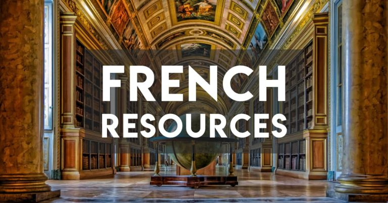 Learn French Cheaply with These Resources