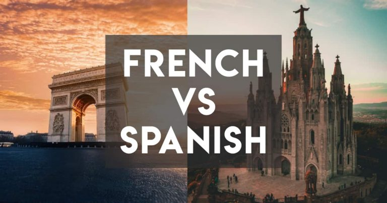 French vs Spanish — Four Core Similarities and Differences