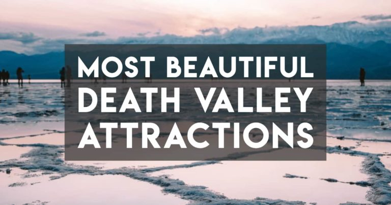 The Most Beautiful Death Valley Attractions — with Downloadable Map!