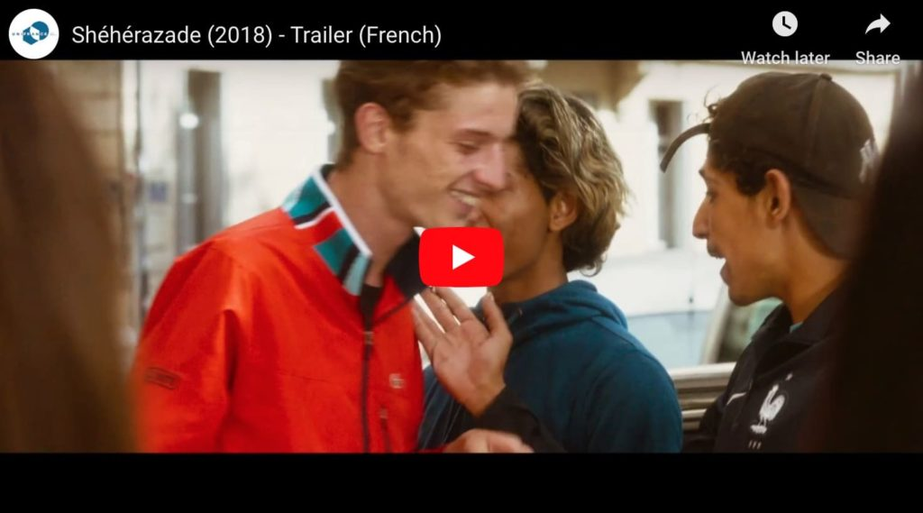 Screen capture from Sheherezade, a french film, from netflix