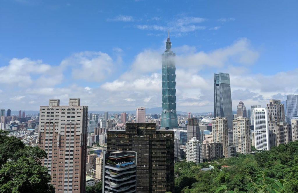 Taipei — one of the homes of Chinese. Most people in Taipei speak Mandarin.
