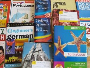 textbooks we used to learn a language from home
