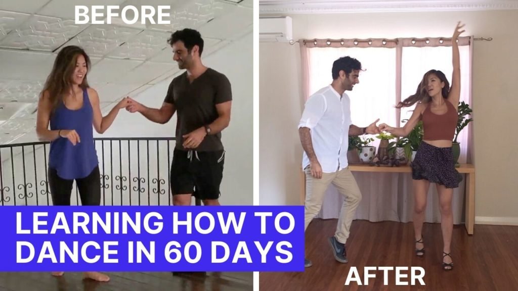 Final video learning to dance salsa after 60 days