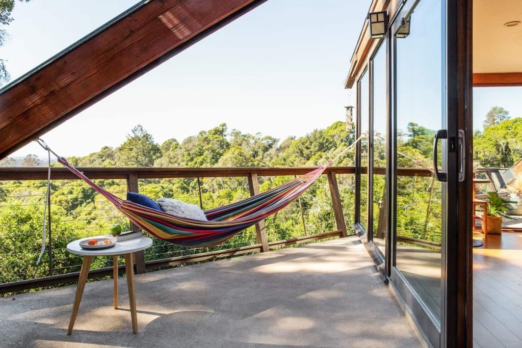 Aptos Treehouse Northern California Airbnb