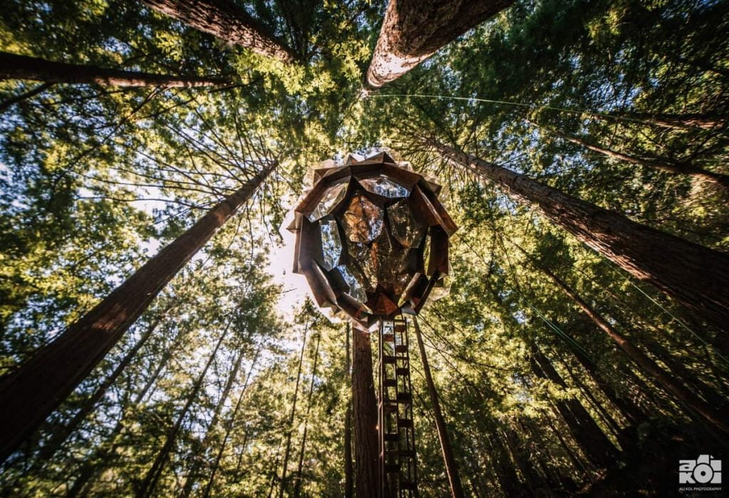 best california airbnb pinecone treehouse santa cruz 4