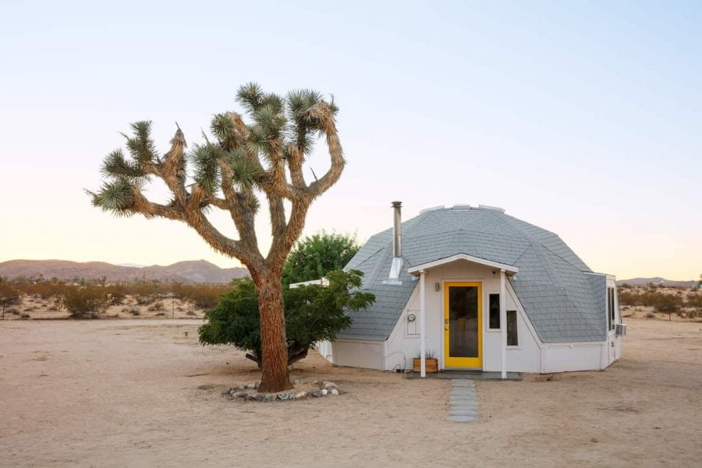 joshua tree dome house