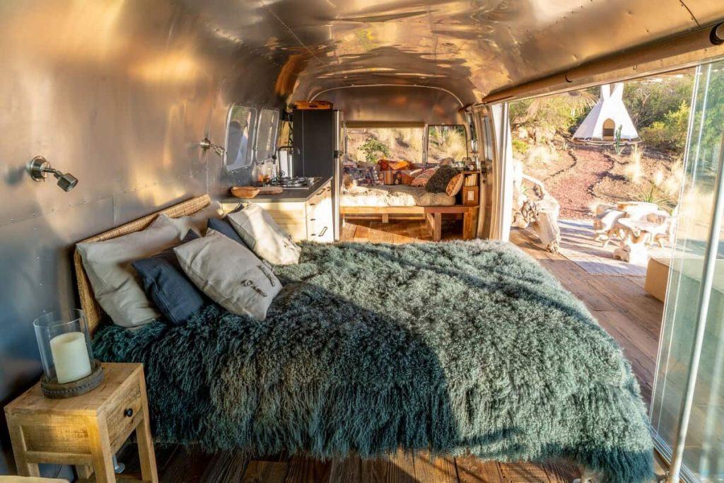 malibu airstream airbnbs in california