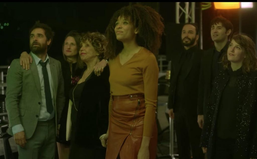 Screen grab from Dix Pourcent, a French TV show on Netflix