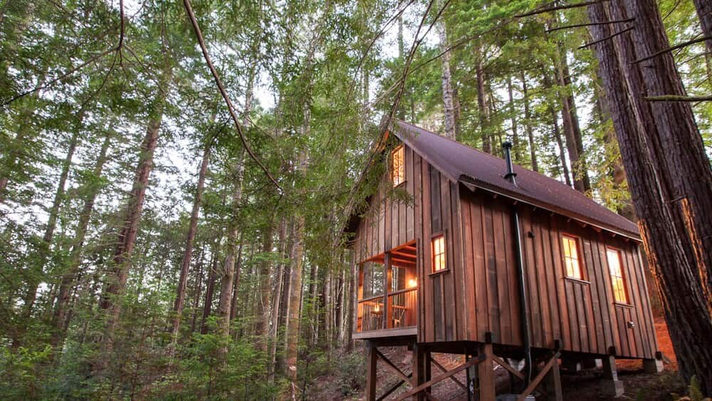 Mendocino Northern California Airbnb Tiny House 1
