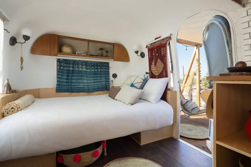 airstream joshua tree airbnb other bed