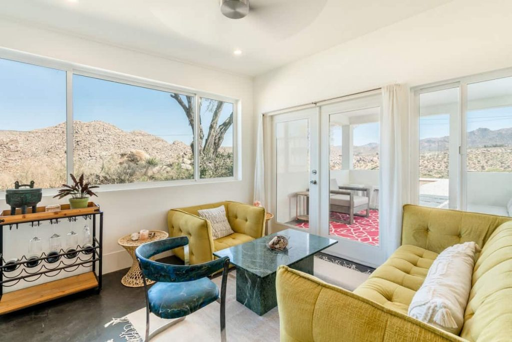 cielito lindo joshua tree airbnb california retreat - interior