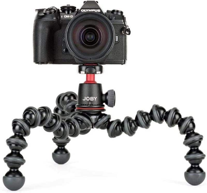 Joby gorillapod travel gift idea, great for selfies