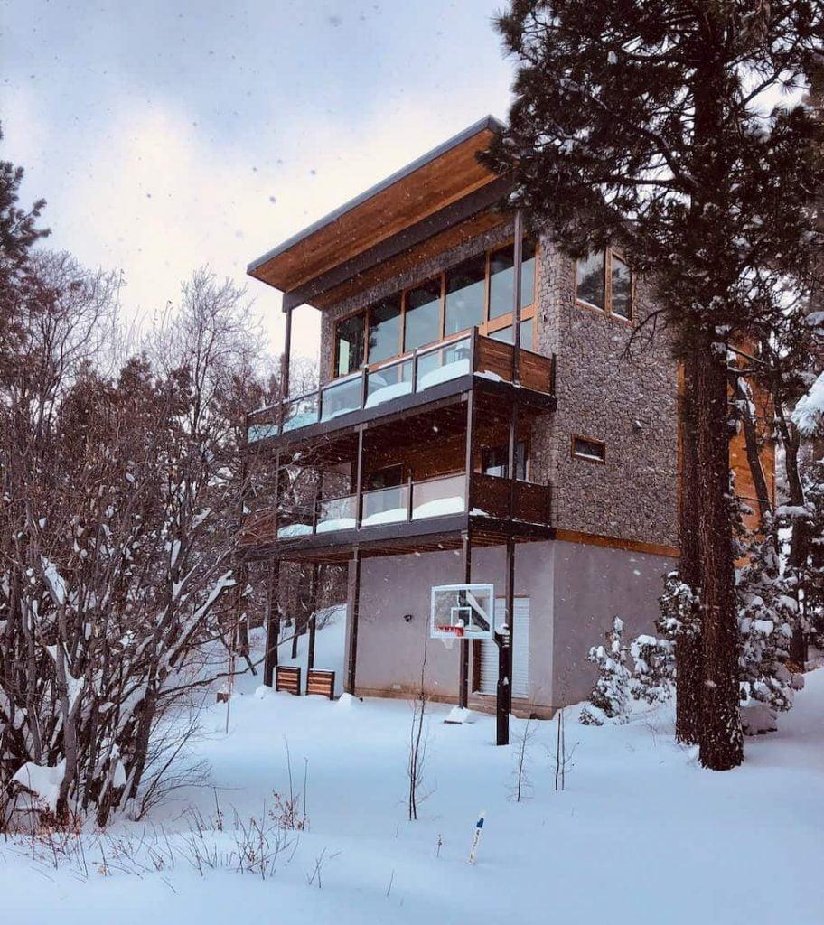 big bear modern cabin