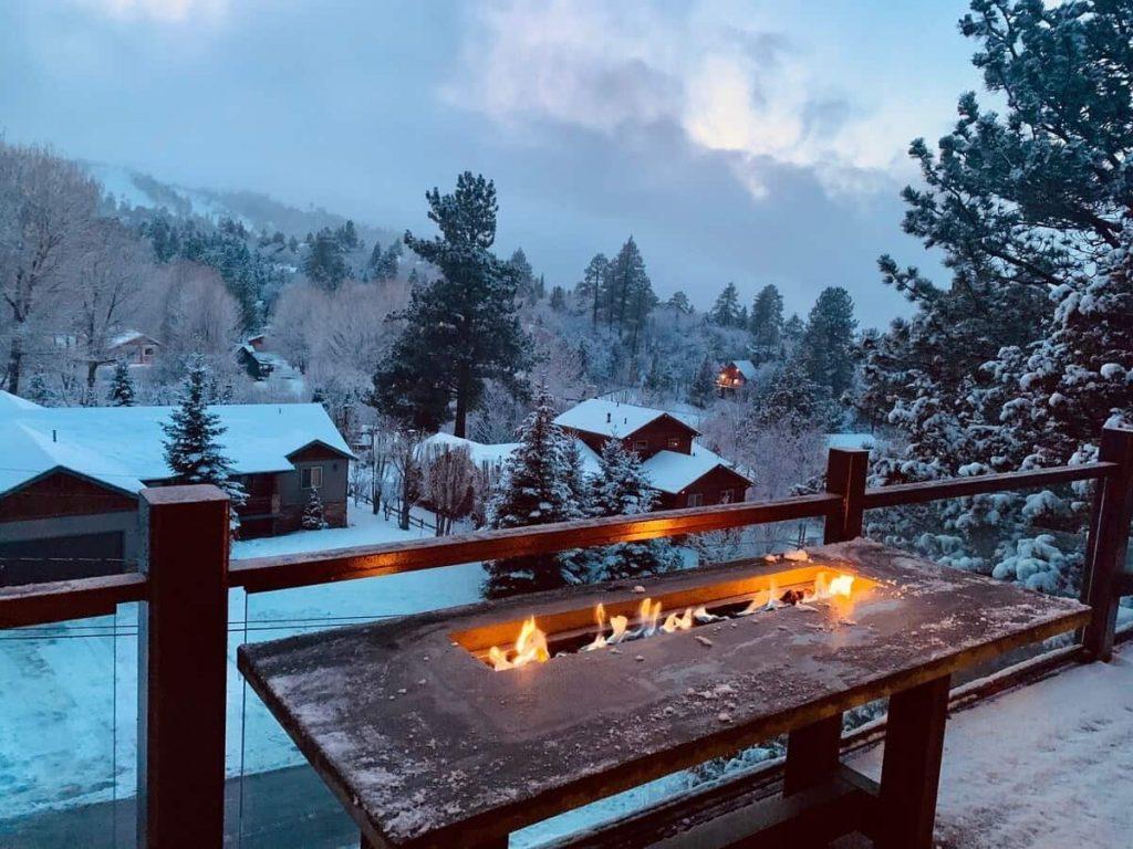big bear airbnb modern cabin