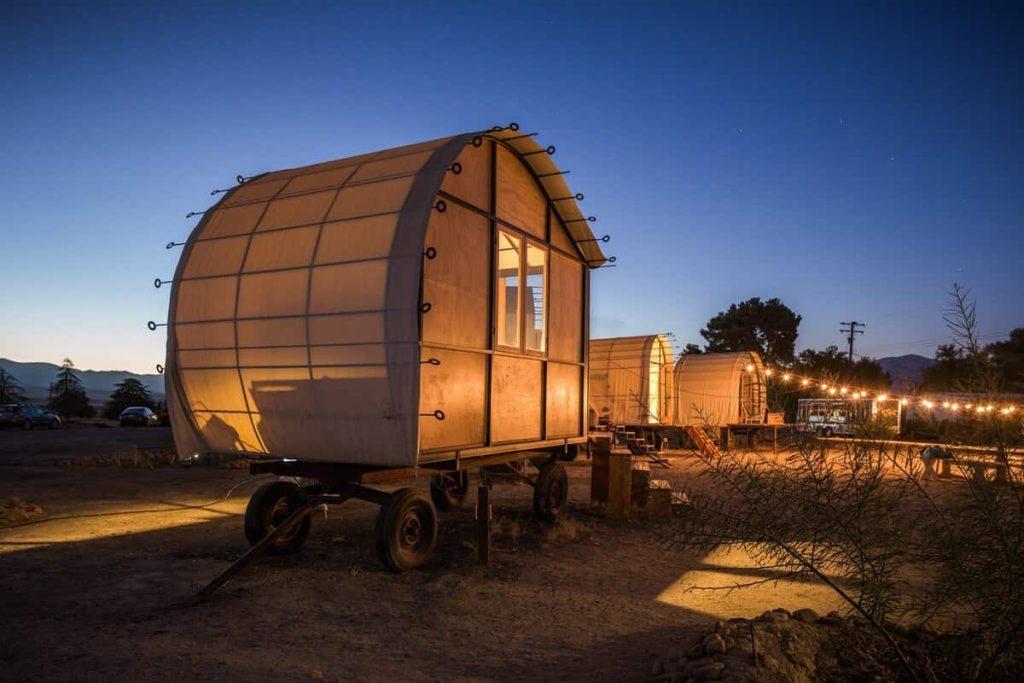 Blue-Sky-Center-Snail-Hut-California-Glamping