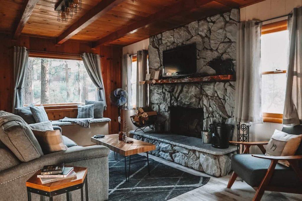 Honey Bear Cabin Getaway big bear airbnb