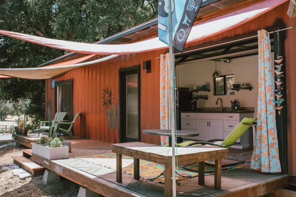 Ranch Bungalow California Glamping Caravan