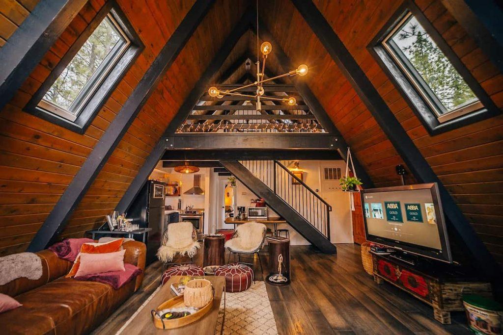 a frame big bear airbnb