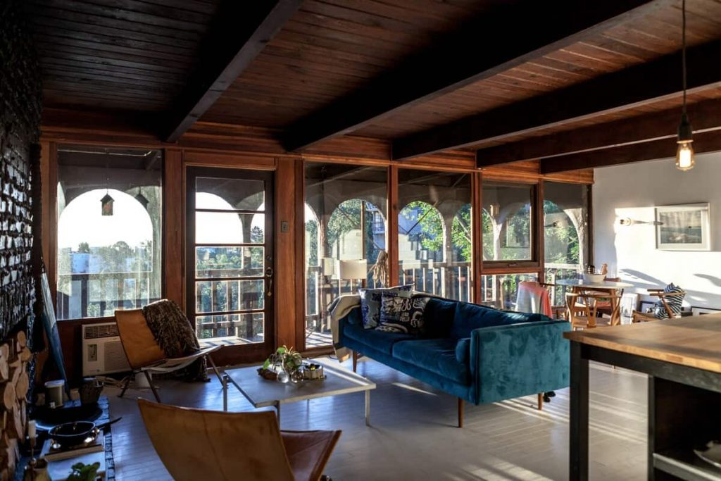 Hilltop John Lennon Home Los Angeles Airbnb