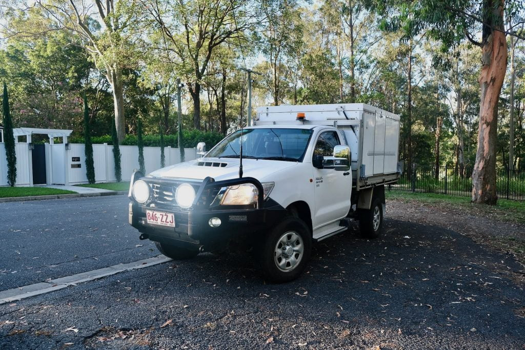 Our Toyota Hilux 4x4 + Trayon Camper For Sale 1