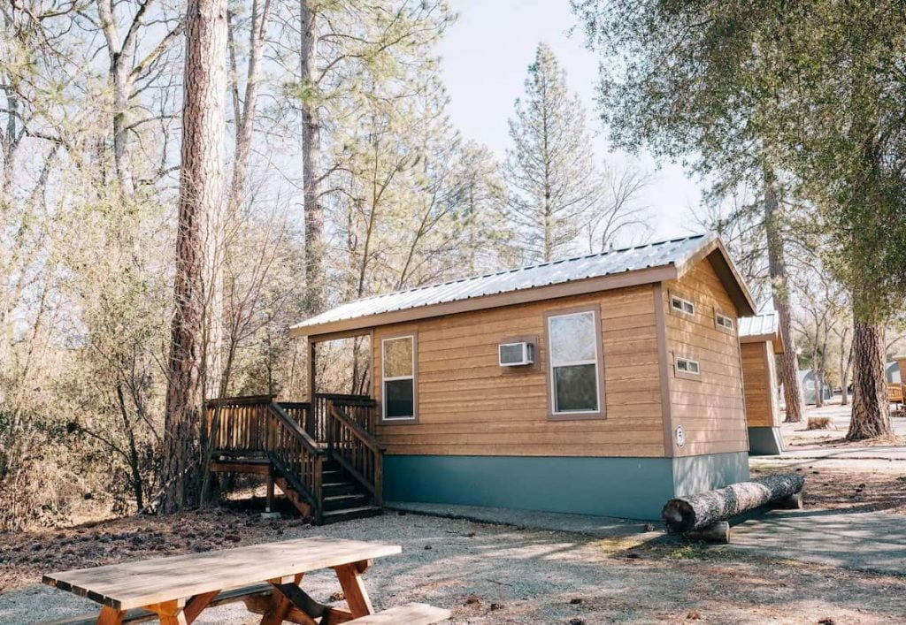 Yosemite Tiny Cabin Airbnb California