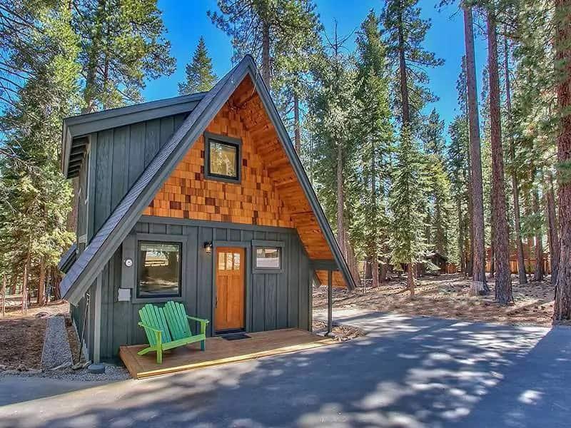 Airbnb Lake Tahoe Rental Modern Mountain A Frame