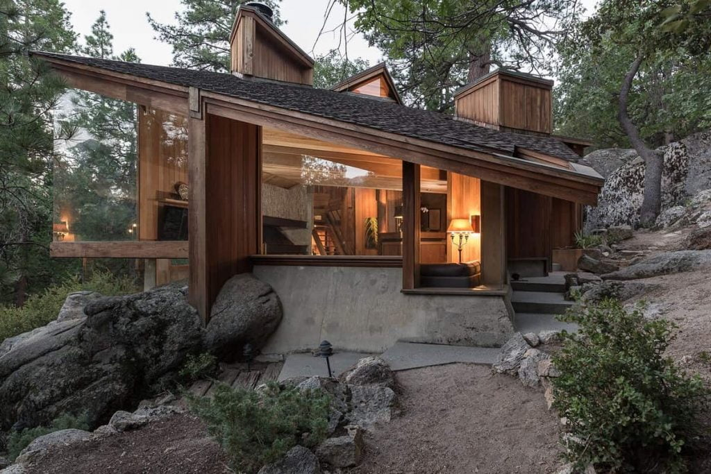Architect's Dream Luxury Mountain Home Idyllwild Cabin Rentals