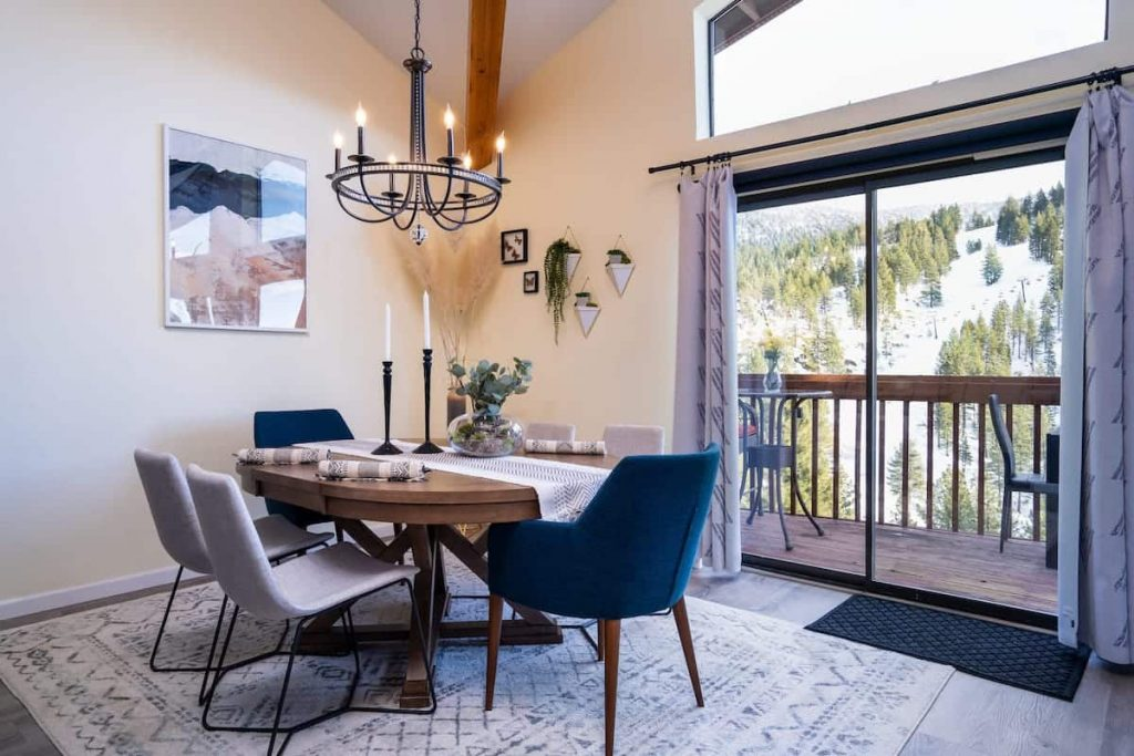 Boutique Condo with Ski and Lake View Best Airbnb in Lake Tahoe