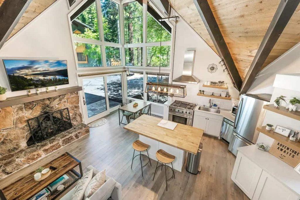 Tahoe Hideaway Lake Tahoe Airbnb Cabin